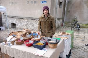 Bertrand au marché de Blois